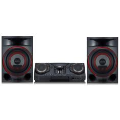 Mini System LG XBOOM CL87 2.350 Watts Karaokê Bluetooth USB