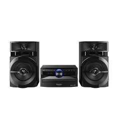 Mini System Panasonic SC-AKX100LBK 250 Watts Bluetooth USB