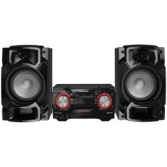 Mini System Panasonic SC-AKX440LBK 580 Watts Ripping Bluetooth USB