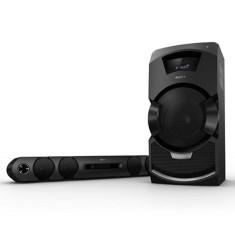 Mini System Sony MHC-GT3D Karaokê Ripping Bluetooth NFC USB