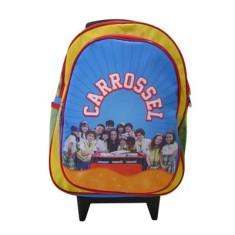 Mochila com Rodinhas Escolar Baby Brink Carrossel Carrossel 6301