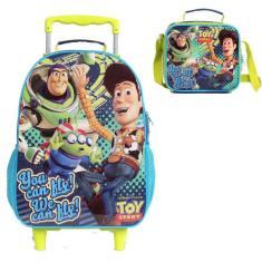 Mochila com Rodinhas Escolar Dermiwil Easy Toy Story