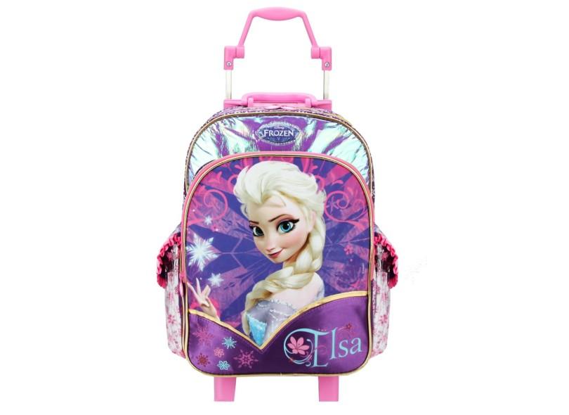 c7173ab0c Mochila Escolar Dermiwil Frozen Elsa 16 60211