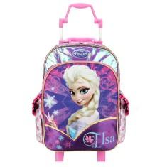 Mochila com Rodinhas Escolar Dermiwil Frozen Elsa 16 60211