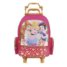 Mochila com Rodinhas Escolar Dermiwil Princesas da Disney 37223