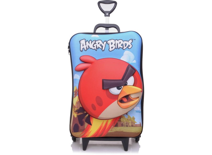 cf8521fb6 Mochila Escolar Max Toy by Diplomata Angry Birds Red