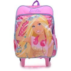 Mochila com Rodinhas Escolar Sestini Barbie 16M Plus 63850 G