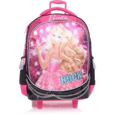 Mochila com Rodinhas Escolar Sestini Barbie Barbie Rock N' Royals 64342 G