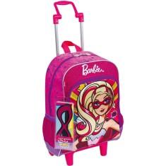 Mochila com Rodinhas Escolar Sestini Barbie Barbie Super Princesa 064010 G