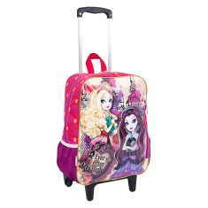 Foto Mochila com Rodinhas Escolar Sestini Ever After High 16M G 63961