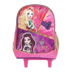 Mochila com Rodinhas Escolar Sestini Ever After High 16Y G 64310
