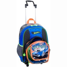 Foto Mochila com Rodinhas Escolar Sestini Hot Wheels Hot Wheels 16Z G 64144