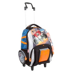 Foto Mochila com Rodinhas Escolar Sestini Hot Wheels Hot Wheels 17Z G 64593