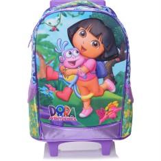 Mochila com Rodinhas Escolar Xeryus Dora Dora Boots 4901
