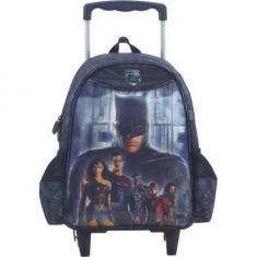 Mochila com Rodinhas Escolar Xeryus Marvel Liga da Justiça Mark Of a Hero 16 R.7190