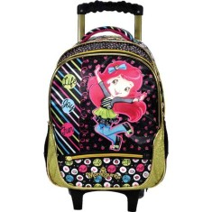 Foto Mochila com Rodinhas Escolar Xeryus Moranguinho Life, Joy and Fun 14 5661