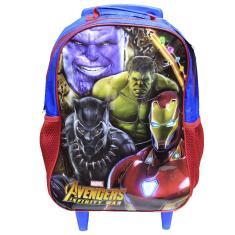 605ac099ed Mochila com Rodinhas Escolar Xeryus The Avengers Grande 8480