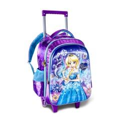 Mochila Escolar Clio Style Princesa Flora FL7030K G