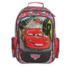 Mochila Escolar Dermiwil Disney Carros Metalic G 36993