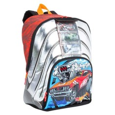 Mochila Escolar Sestini Hot Wheels Hot Wheels 17YG 64526