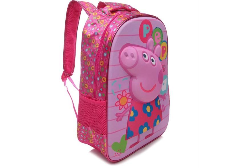 7fa2a2e0e Mochila Escolar Xeryus Peppa Pig Colorful 16