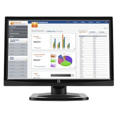 "Foto Monitor LED 18,5 "" HP V196bz"