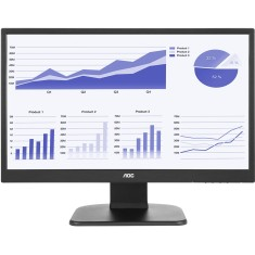 "Foto Monitor LED 21,5 "" AOC Full HD E2270PWHE"