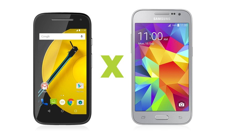 Moto E vs Galaxy Win 2 Duos