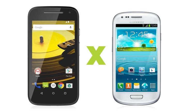 Moto E vs S3 Mini: comparamos os dois aparelhos