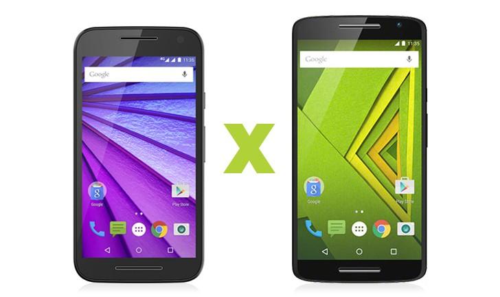 Moto G 3ª Geração vs Moto X Play: qual celular da Motorola comprar?