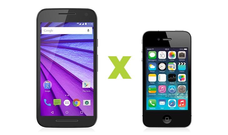 Moto G ou iPhone 4S: será que um deles é ideal para você?