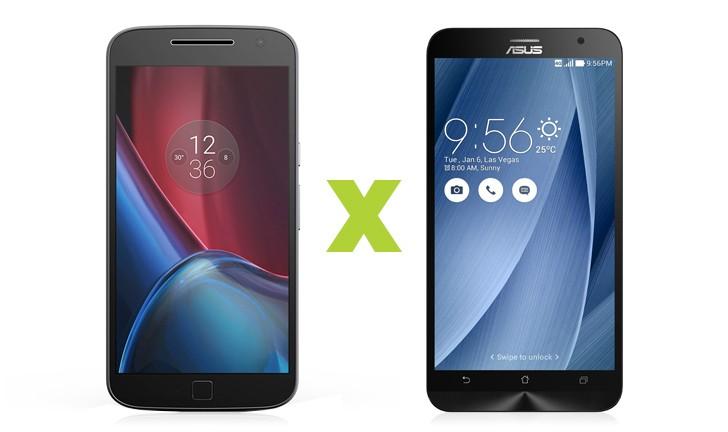 Moto G4 Plus vs Zenfone 2: descubra qual tem melhor custo/benefício