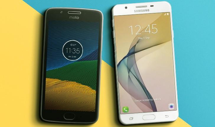 Moto G5 vs Galaxy J7 Prime: um comparativo entre intermediários