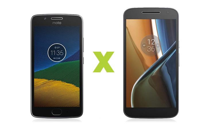 Moto G5 vs Moto G4: saiba tudo sobre os smartphones intermediários da Lenovo