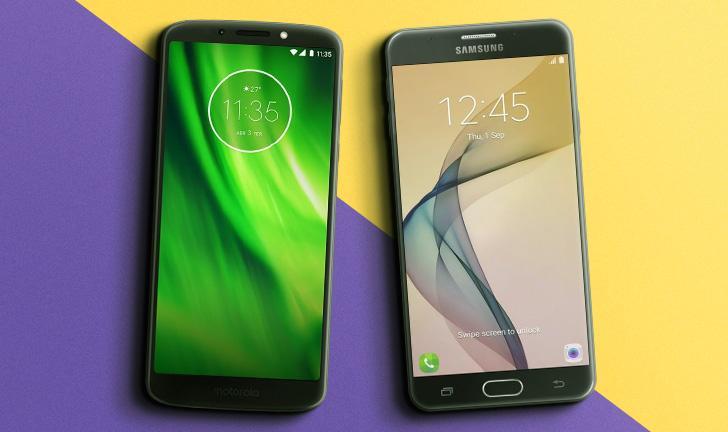 0f4cb636e Moto G6 Play vs Galaxy J7 Prime: qual o melhor smartphone com bom  custo/benefício?