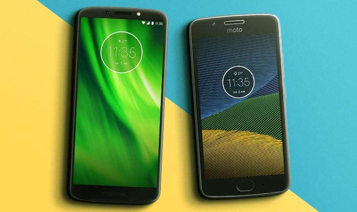 5fc1e9a6d Moto G6 Play vs Moto G5  qual celular da Motorola é melhor