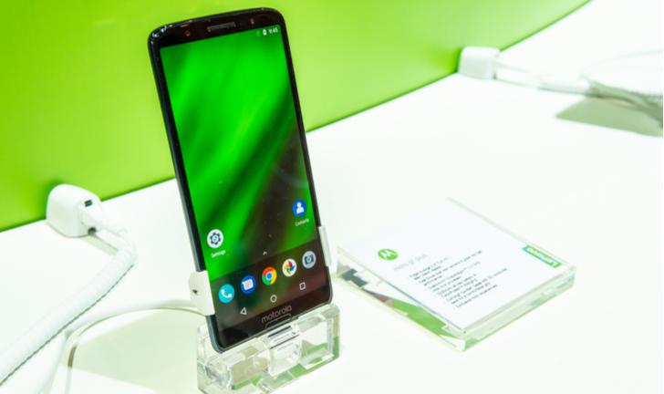 motorola moto g6 plus android 9 pie