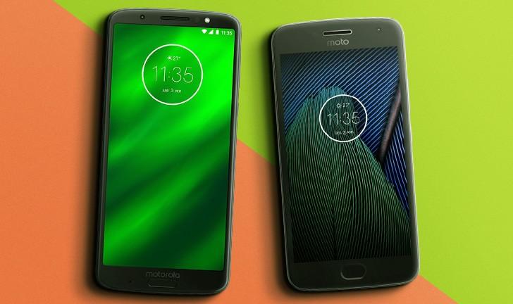 Moto G6 Plus vs Moto G5 Plus: veja a evolução do celular da Motorola
