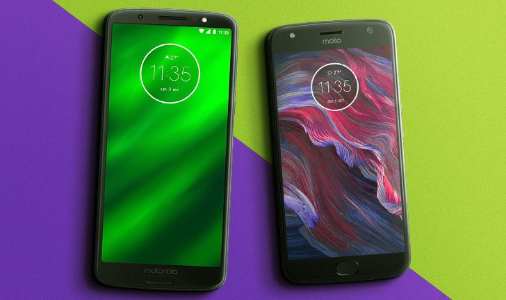 """455a39ffcc Moto G6 Plus vs Moto X4  qual é o melhor intermediário """"premium"""" da Motorola"""