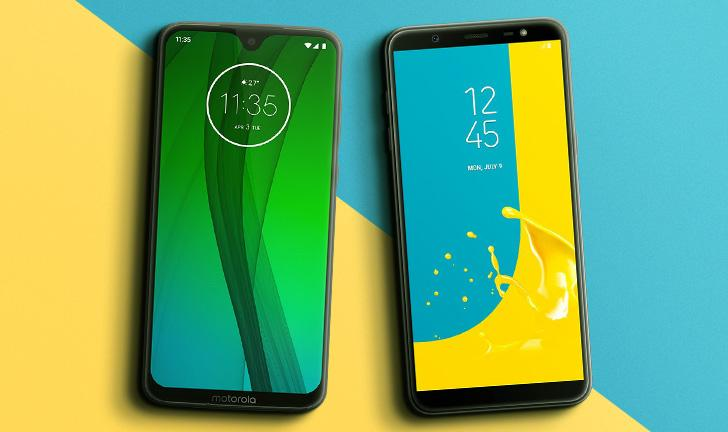 7de6c5def Moto G7 vs Galaxy J8  qual é o melhor celular intermediário
