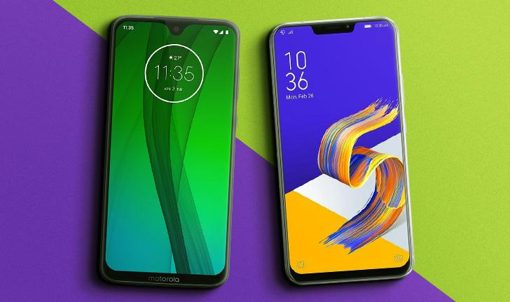 Moto G7 vs Zenfone 5: celulares intermediários disputam em preço e ficha técnica