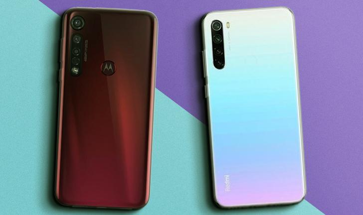 Moto G8 Plus vs Xiaomi Redmi Note 8: compare os celulares intermediários