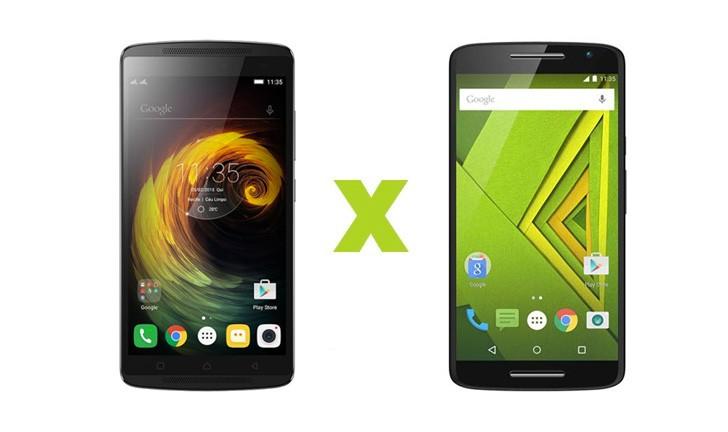Moto X Play ou Lenovo Vibe? Descubra qual smartphone vence a disputa