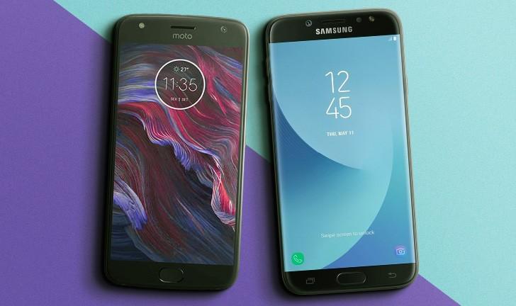 f62aa8a8a6 Moto X4 vs Galaxy J7 Pro  qual celular intermediário é o melhor