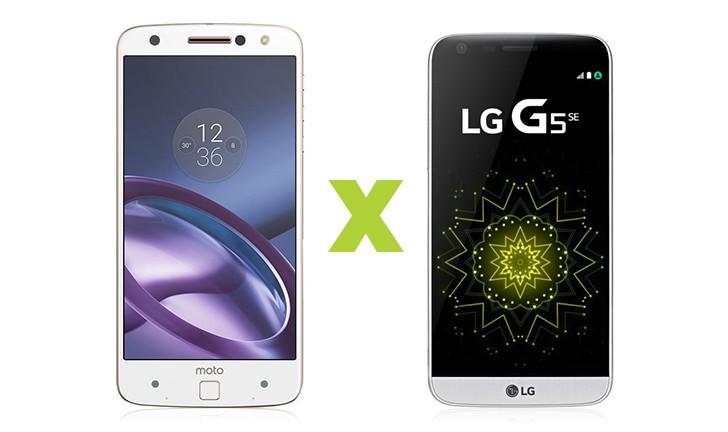 Moto Z vs LG G5 SE: uma disputa entre smartphones modulares