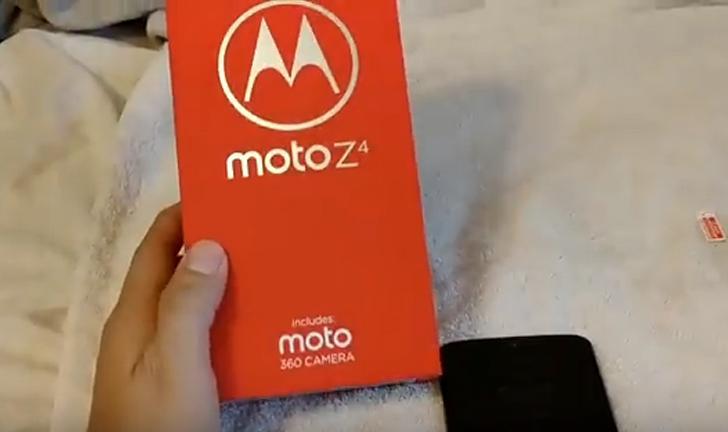 Moto Z4 ganha unboxing após ser vendido 'acidentalmente' na Amazon