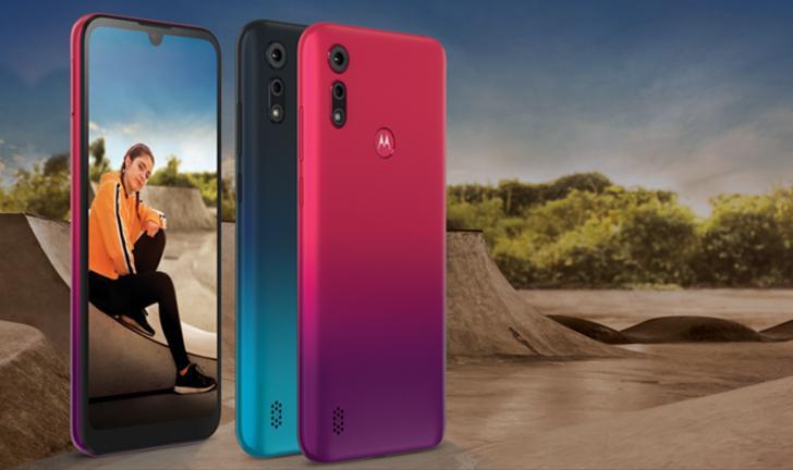 Motorola lança Moto E6s com câmera dupla e preço abaixo de R$ 1 mil