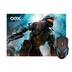 Mouse Gamer Óptico USB War MC100 - OEX