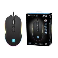 Mouse Óptico Gamer USB Pro M3 Rgb - Fortrek