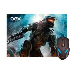 Foto Mouse Óptico Gamer USB War MC100 - OEX